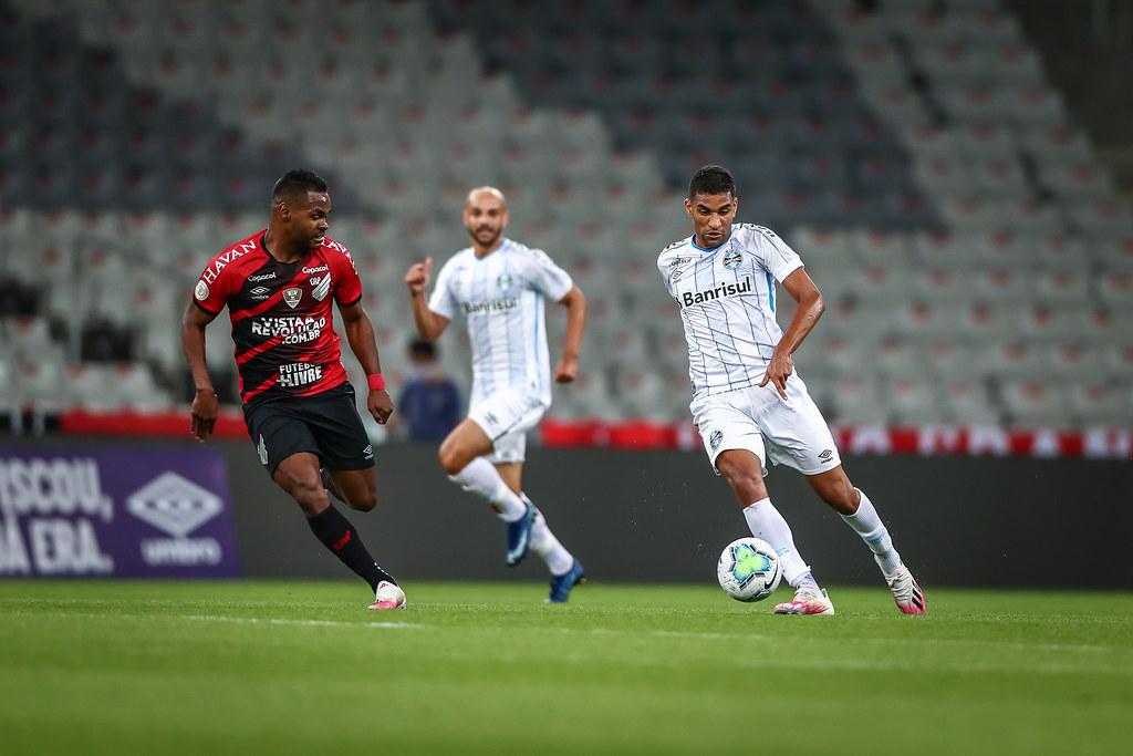 Jogo do Athletico contra o Grêmio foi transmitido no streaming do clube para os sócios