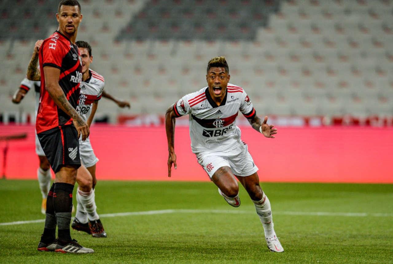 Flamengo venceu o primeiro duelo contra o Athletico Paranaense (Foto: Marcelo Cortes / Flamengo)