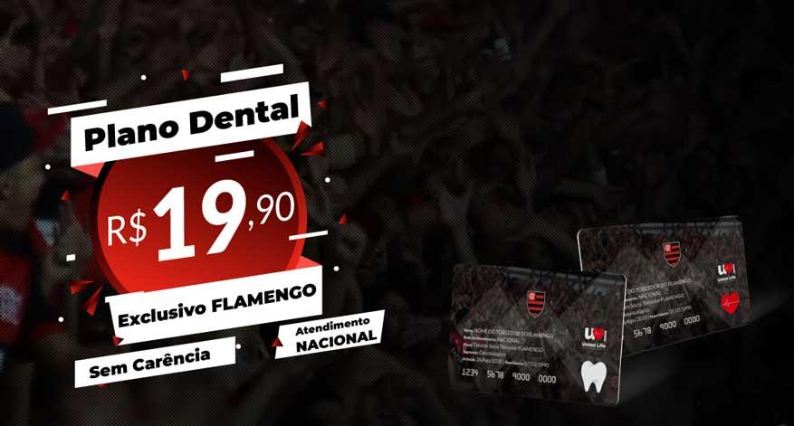Site do Flamengo para a venda de planos da Union Life já está no ar
