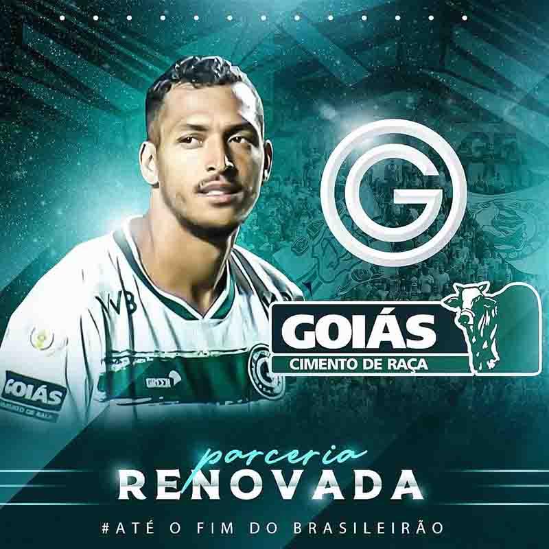 Cimento Goiás fecha patrocínio no Goiás até o final da temporada