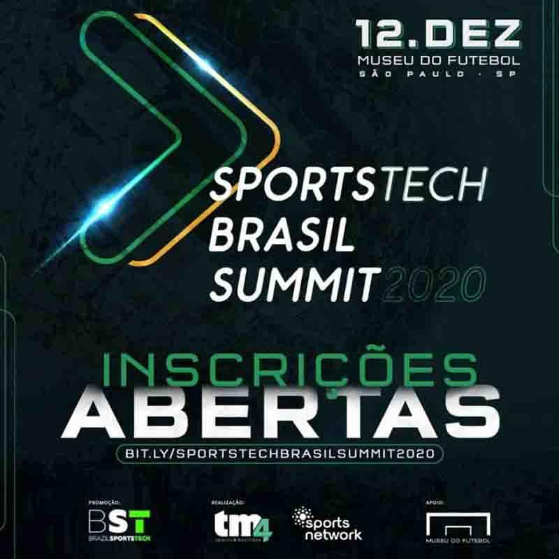 Sportstech Brasil Summit acontecerá no Museu do Futebol em dezembro