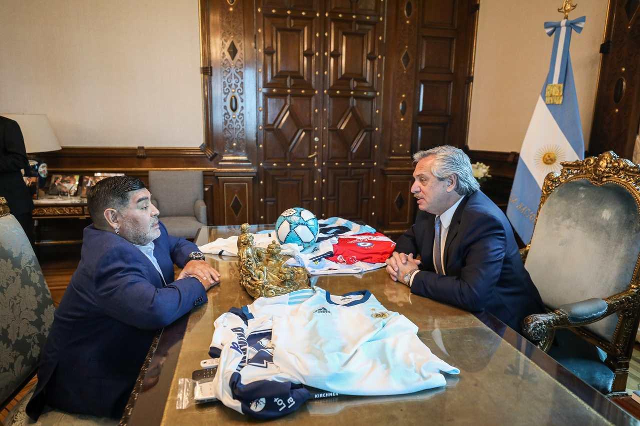De Fidel a Fernández, Maradona se apoiou na esquerda latino-americana