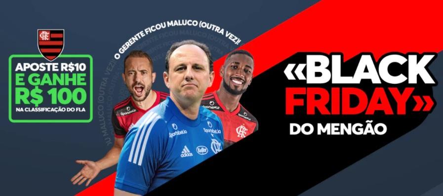 Sportsbet.io ativa Flamengo com ação de Black Friday