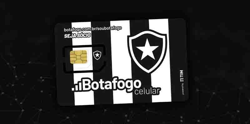 Botafogo lança operadora de telefonia móvel