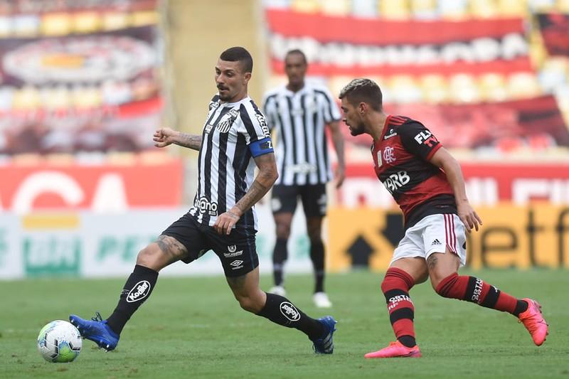 Na audiência, Flamengo x Santos vai bem no Rio e na média em São Paulo