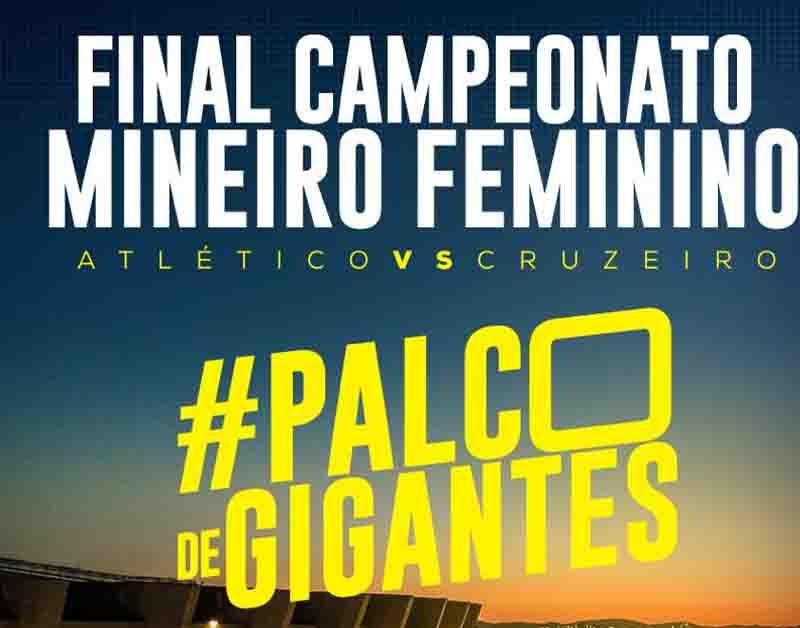 Final feminina em Minas Gerais 'ganha' TV e Mineirão