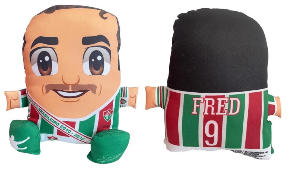 Almofada do Fred, lançada pelo Fluminense (Foto: Divulgação)