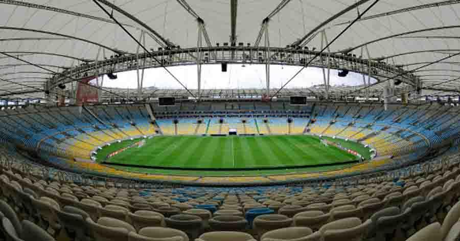 Maracanã poderia receber 7,8 mil pessoas