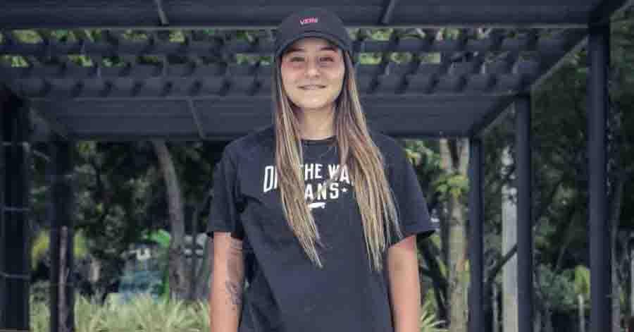 A Vans anunciou Ariadne Souza como a mais nova integrante da equipe de skate amador.
