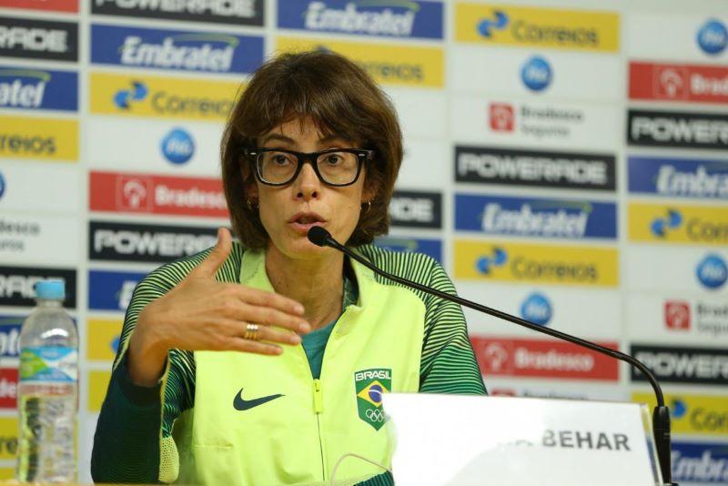 Adriana Behar, ainda no COB: mulheres têm ganhado espaço na gestão do esporte (Foto: COB)