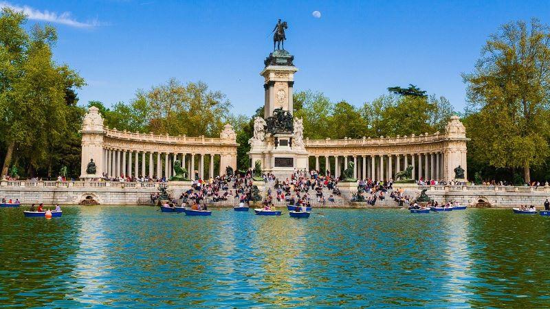 Jardins do Retiro, em Madri: capital espanhola deverá ganhar mais um parque