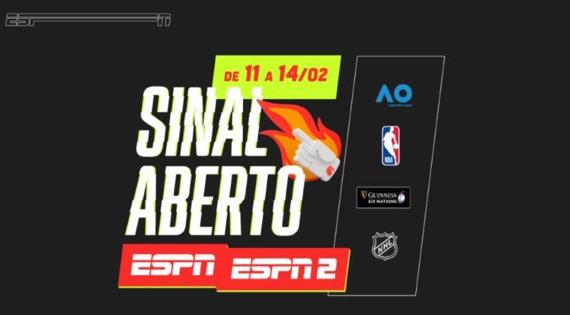 Com NBA e Australian Open, Claro libera ESPN