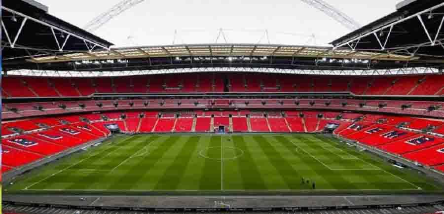 A ideia é que Wembley possa receber 30 mil pessoas pos partida.