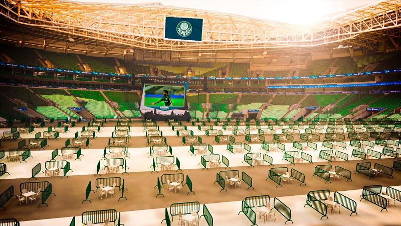 Allianz Parque exibirá final da Copa do Brasil (Foto: Divulgação)
