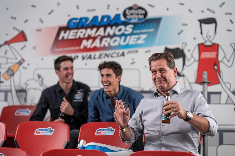 Estrella Galicia renova acordo com irmãos Márquez na MotoGP
