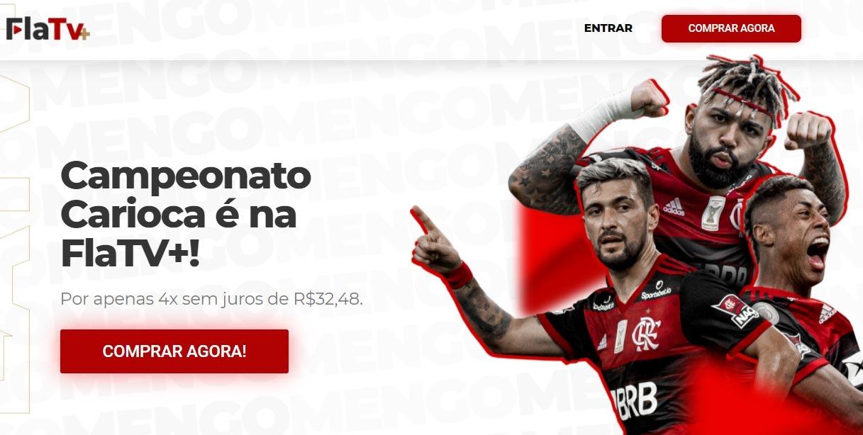 Flamengo teve problemas no serviço de streaming.