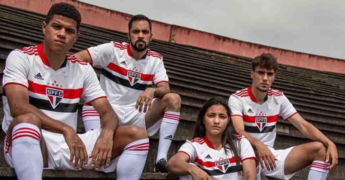 Adidas e São Paulo apresentam novo uniforme.