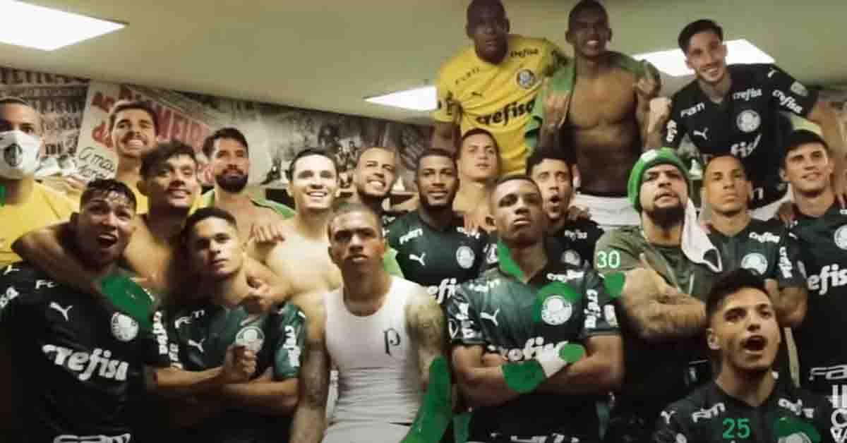 Palmeiras e Puma lançam música.
