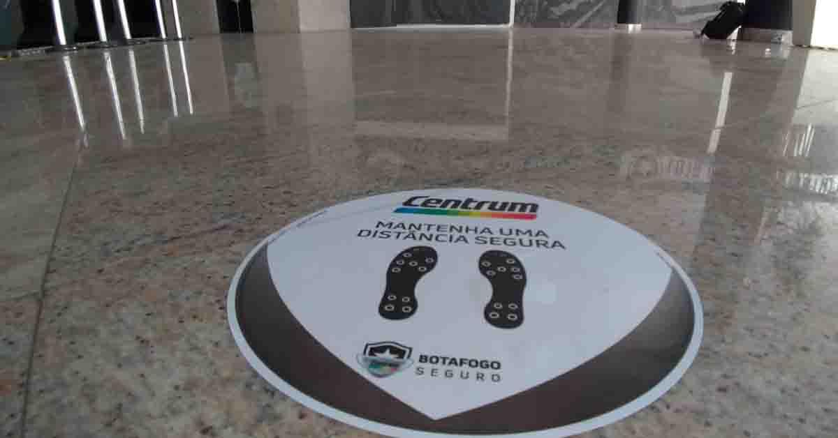 O projeto Botafogo Seguro é uma parceria do clube com Centrum.