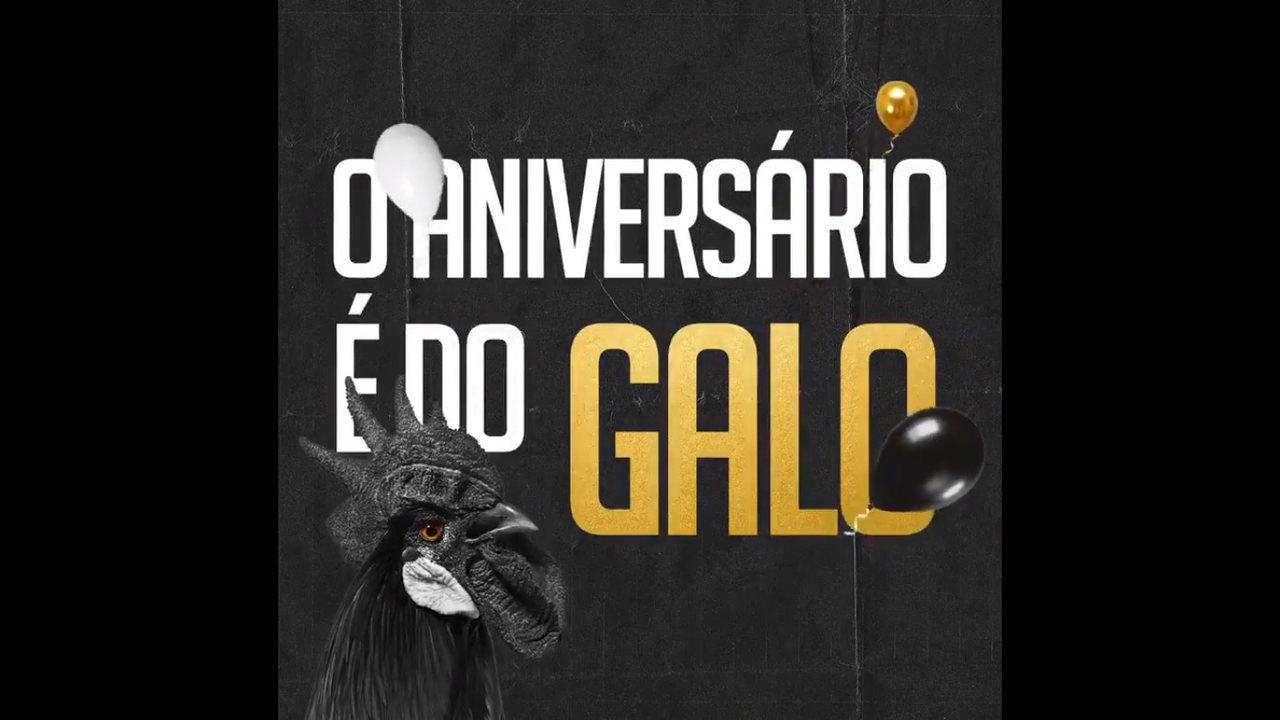 Vídeo mostra como funcionará a promoção do Galo Bmg para o aniversário do Atlético