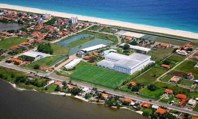 Complexo da CBV em Saquarema receberá Superliga (Foto: Divulgação)