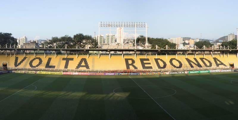 Clubes não precisarão pagar aluguel para jogar em Volta Redonda