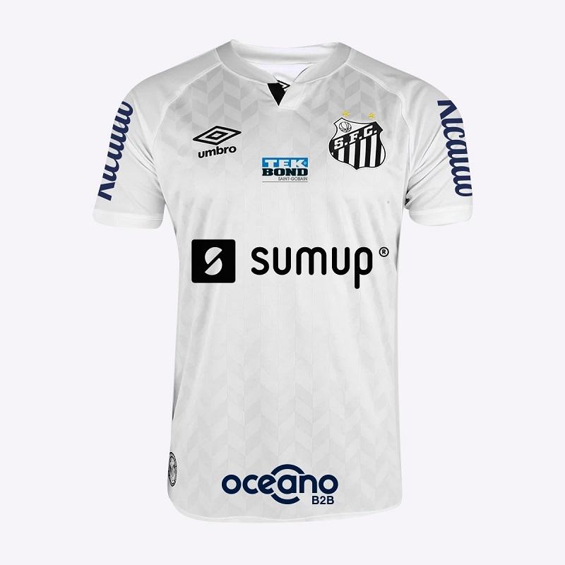 Sumup assume patrocínio máster do Santos por um ano (Foto: Divulgação)