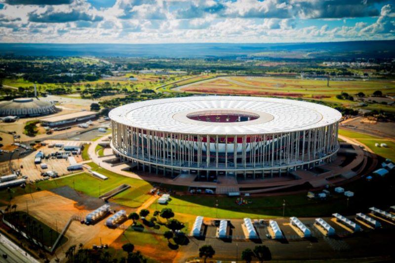 Estádio Mané Garrincha se tornará a casa do Palmeiras por um semana (Foto: Divulgação)