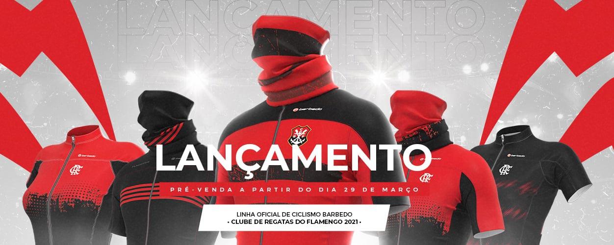 Flamengo lança linha de roupas de ciclismo com Barbedo Sports