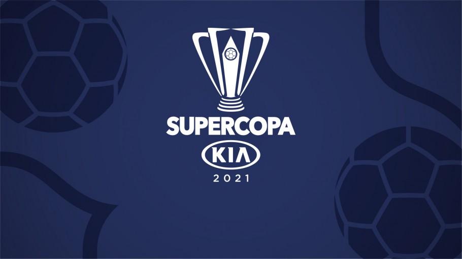 Logotipo da Supercopa do Brasil, com a presença da Kia (Foto: Divulgação)