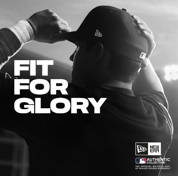 """New Era foca parcerias no esporte em campanha global """"Fit For Glory"""""""