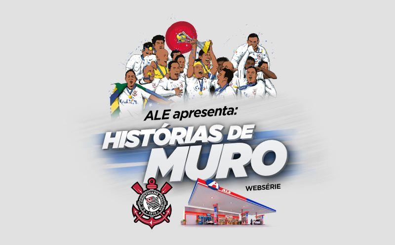ALE transformou homenagem no CT em série de vídeos no Corinthians