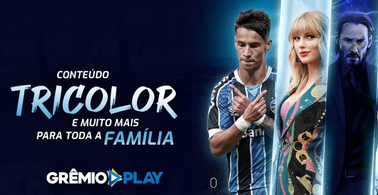 Grêmio Play usa, como mote, o fato de que o conteúdo é para toda a família