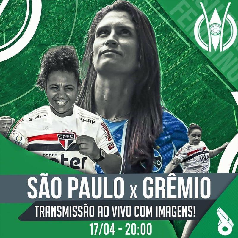 São Paulo x Grêmio será a estreia do Desimpedidos (Foto: Reprodução/Instagram)