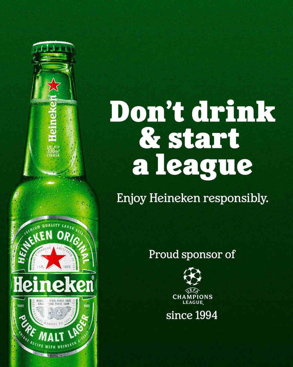 Heineken faz piada com fiasco da Superliga