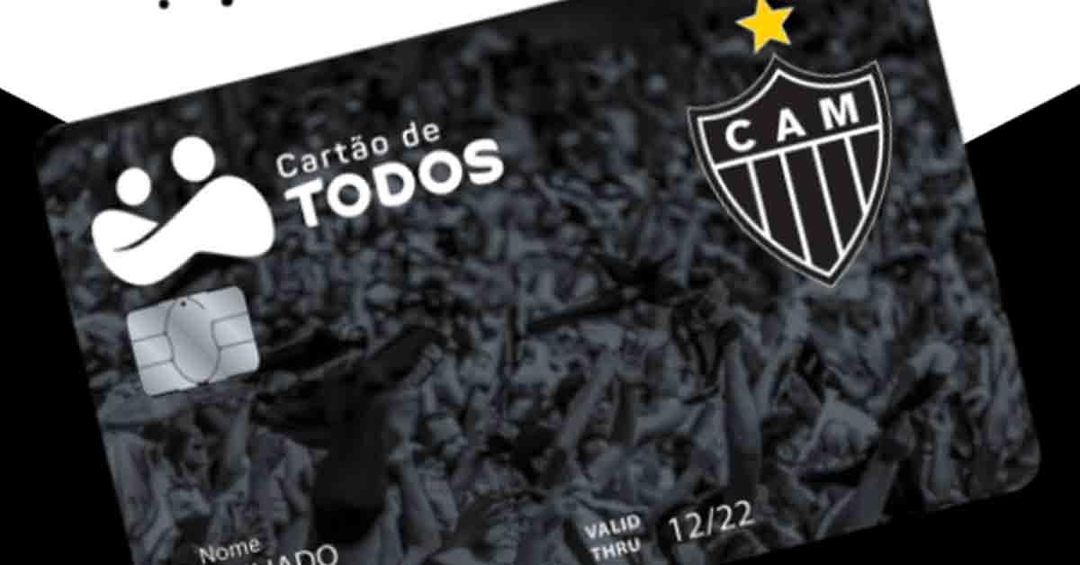 Cartão de Todos fecha com Atlético Mineiro