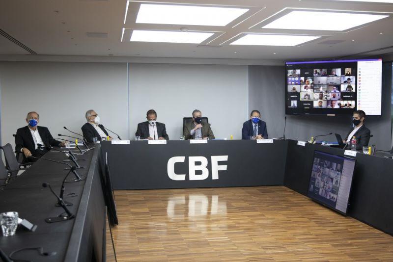 CBF aprovou as contas em Assembleia Geral (Foto: Lucas Figueiredo/CBF)