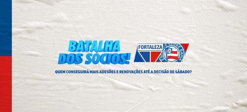 Bahia e Fortaleza se unem em ação por sócios-torcedores