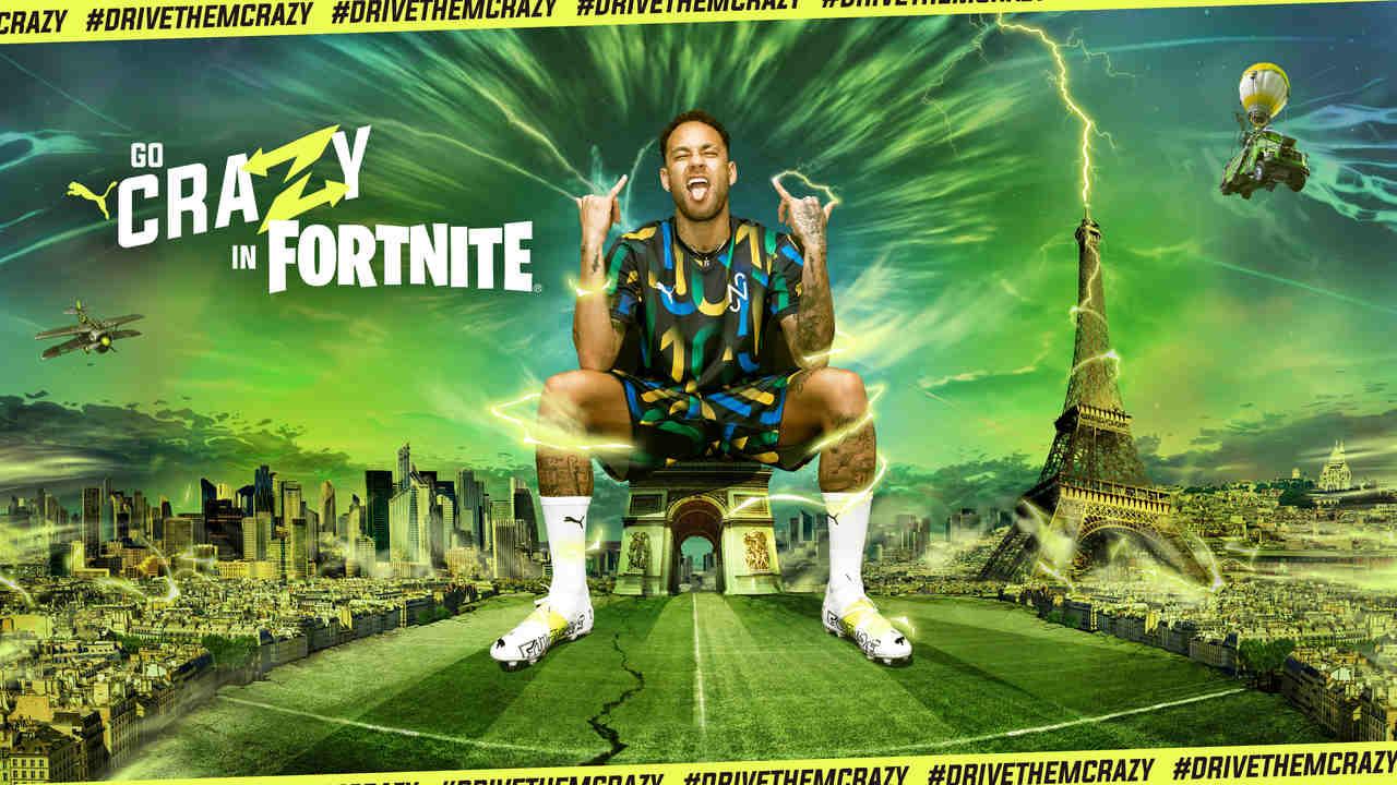 Com Neymar no Fortnite, Puma cria série de ativações para o atleta