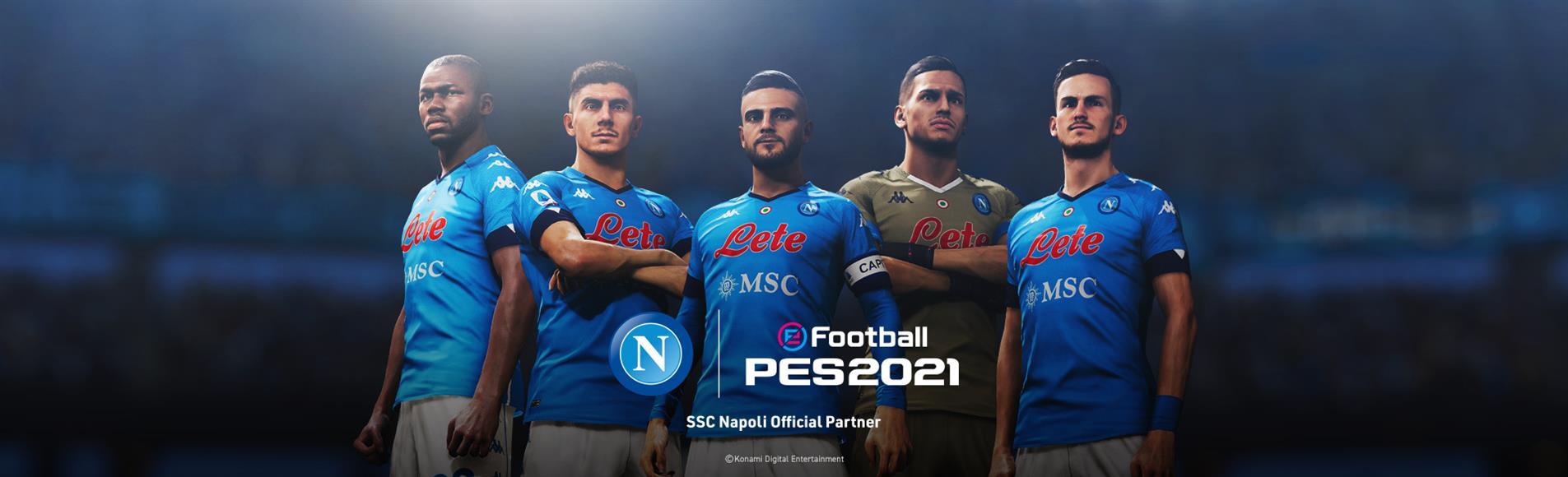 Konami anuncia parceria com o Napoli
