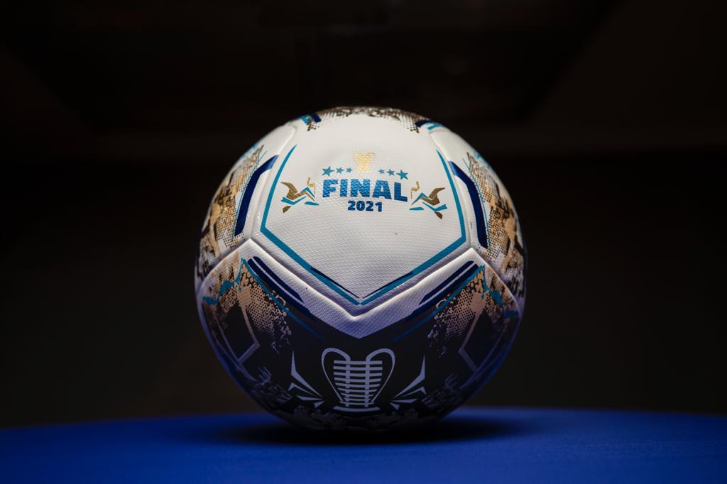 A Asa Branca da final de 2021 da Copa do Nordeste ganhou a cor dourada