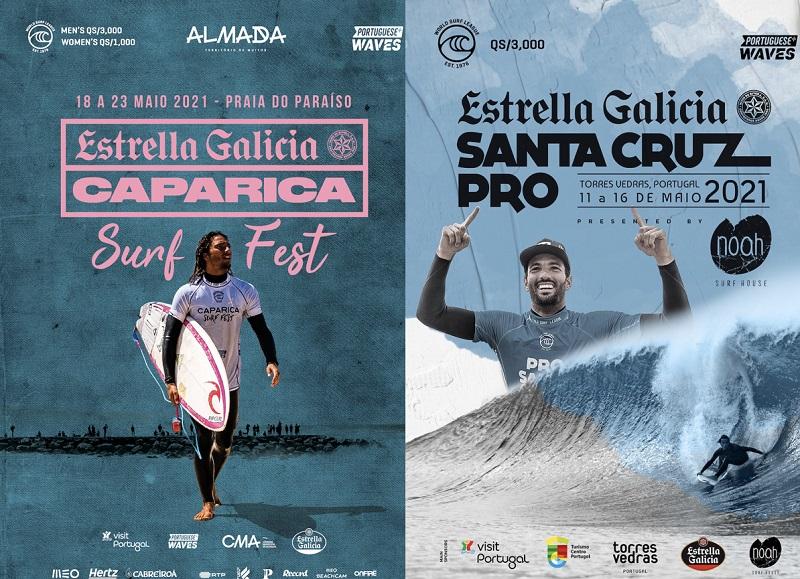 Eventos em Portugal marcam o retorno da WSL na Europa