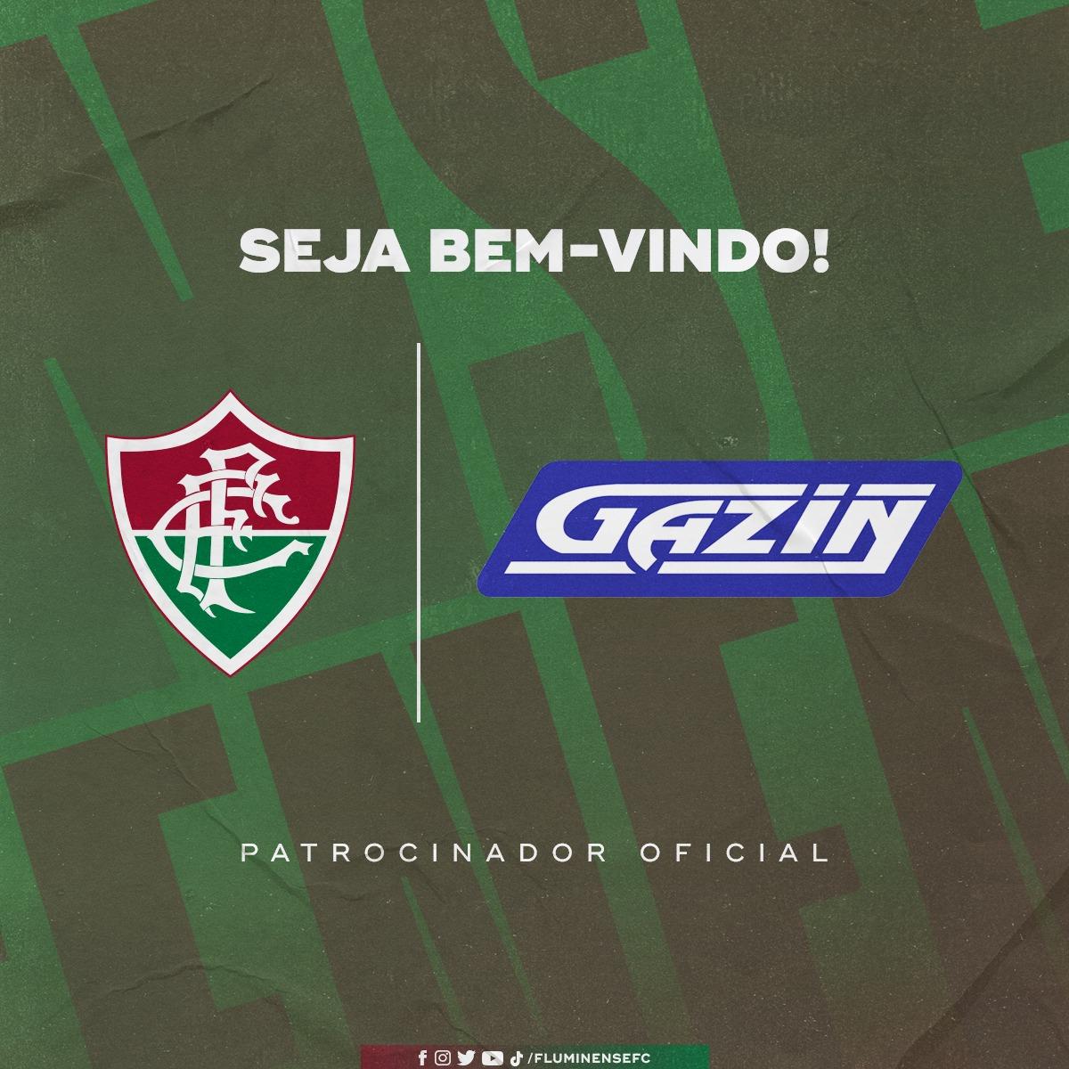Fluminense apresentou a parceria com o Grupo Gazin