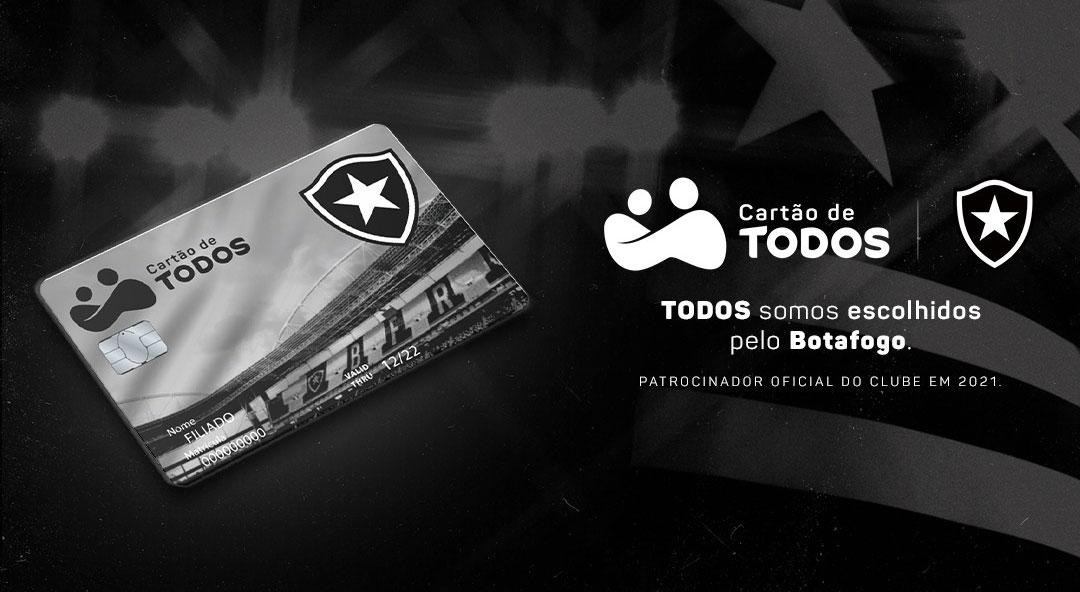 Com Botafogo, Cartão de Todos completa nove clubes