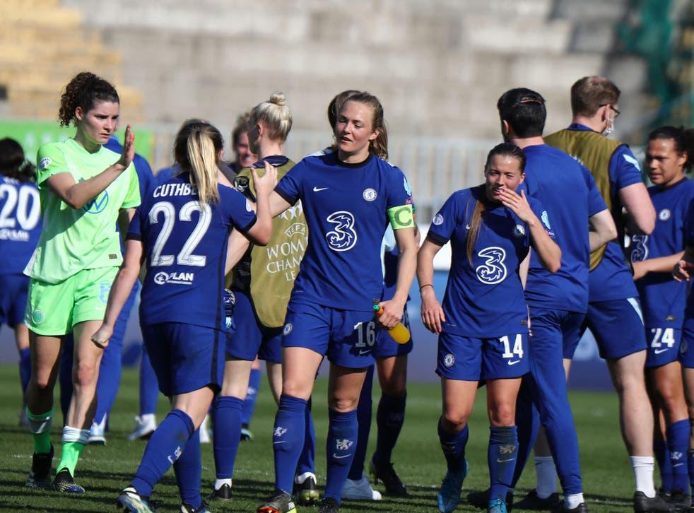 Chelsea fará a final da Champions League feminina no dia 16, contra o Barcelona
