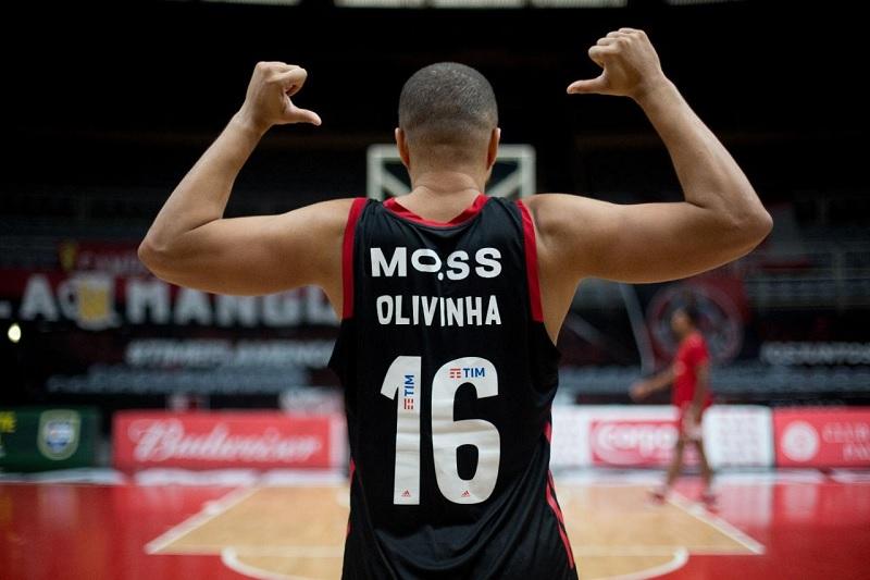Marca da Moss nas costas da camisa do Flamengo (Foto: Divulgação)