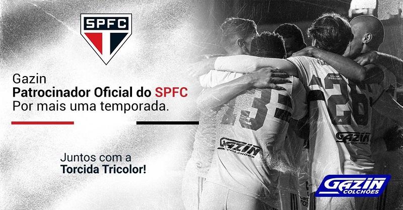 São Paulo renova com Gazin por mais uma temporada