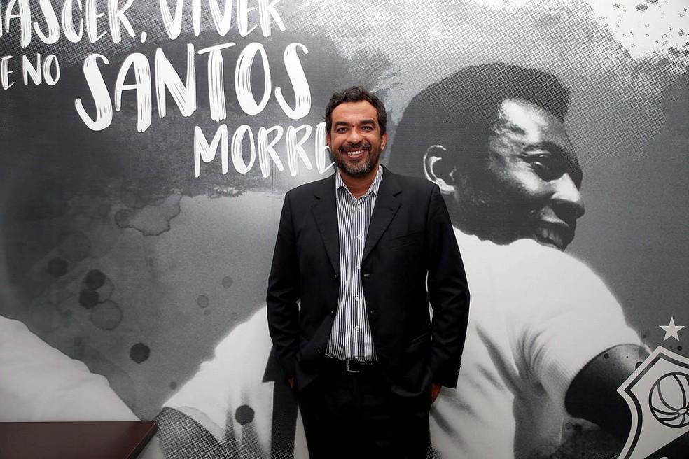Frazão está no Santos desde 2018 (Foto: Divulgação)