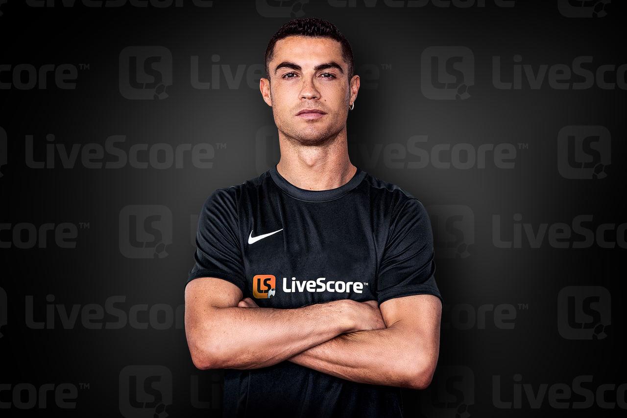 Cristiano Ronaldo vira embaixador da LiveScore