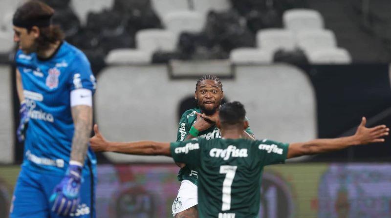 Corinthians x Palmeiras gera pico de audiência no Paulistão